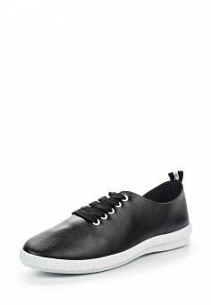 Кеды, Ideal Shoes, цвет: черный. Артикул: ID005AWRWQ33. Женская обувь / Кроссовки и кеды