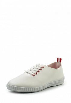 Кеды, Ideal Shoes, цвет: белый. Артикул: ID005AWRWQ49. Женская обувь / Кроссовки и кеды
