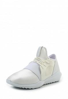 Кроссовки, Ideal Shoes, цвет: белый. Артикул: ID005AWRWQ58. Женская обувь / Кроссовки и кеды