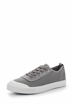 Кеды, Ideal Shoes, цвет: серый. Артикул: ID005AWSBE95. Женская обувь / Кроссовки и кеды