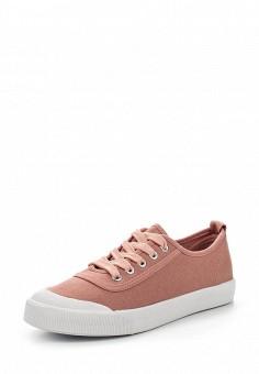 Кеды, Ideal Shoes, цвет: розовый. Артикул: ID005AWSBE96. Женская обувь / Кроссовки и кеды