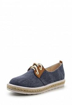 Кеды, Ideal Shoes, цвет: синий. Артикул: ID005AWSBF40. Женская обувь / Кроссовки и кеды