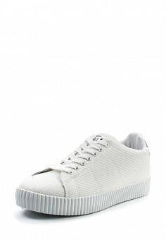 Кеды, Ideal Shoes, цвет: белый. Артикул: ID005AWTOV12. Женская обувь / Кроссовки и кеды