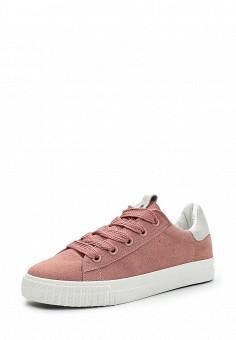 Кеды, Ideal Shoes, цвет: розовый. Артикул: ID007AWWEI67. Женская обувь / Кроссовки и кеды