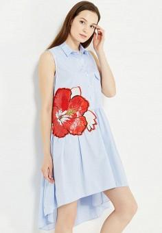 Империал платья голубое