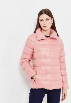 Пуховик, Incity, цвет: розовый. Артикул: IN002EWXKU00. Женская одежда / Верхняя одежда