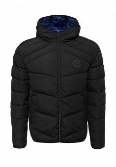Куртка утепленная, Jack & Jones, цвет: черный. Артикул: JA391EMUIR64. Мужская одежда / Верхняя одежда / Пуховики и зимние куртки