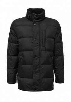 Пуховик, Lagerfeld, цвет: черный. Артикул: LA053EMVDS69. Премиум / Одежда / Верхняя одежда / Пуховики