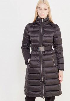 Пуховик, Liu Jo, цвет: черный. Артикул: LI687EWUDM80. Премиум / Одежда / Верхняя одежда / Пуховики и зимние куртки