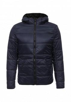 Куртка утепленная, Five Basics, цвет: синий. Артикул: LO019EWJOT69. Мужская одежда / Верхняя одежда / Пуховики и зимние куртки