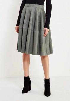 дизайнерская юбка крючком
