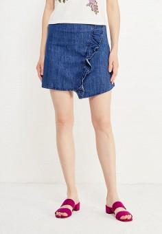 Джинсовые юбки манго