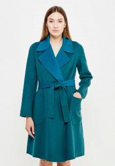 Пальто, Max&Co, цвет: зеленый. Артикул: MA111EWUCA00. Премиум / Одежда / Верхняя одежда