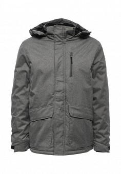 Куртка утепленная, Modis, цвет: серый. Артикул: MO044EMWRK11. Мужская одежда / Верхняя одежда / Пуховики и зимние куртки