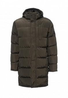 Куртка утепленная, Modis, цвет: хаки. Артикул: MO044EMXWU15. Мужская одежда / Верхняя одежда / Пуховики и зимние куртки