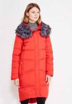 Пуховик, Modis, цвет: красный. Артикул: MO044EWXMA94. Женская одежда / Верхняя одежда