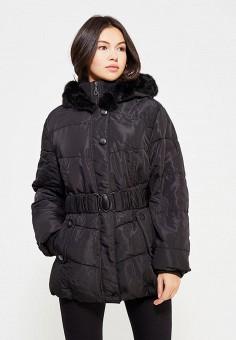 Пуховик, Colin's, цвет: черный. Артикул: MP002XW0F4NR. Женская одежда / Верхняя одежда / Пуховики и зимние куртки