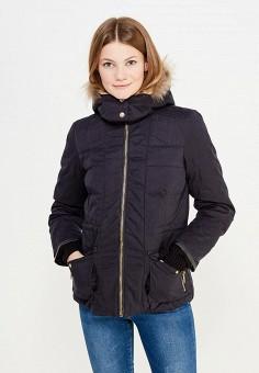 Пуховик, Colin's, цвет: черный. Артикул: MP002XW1AIQB. Женская одежда / Верхняя одежда / Пуховики и зимние куртки