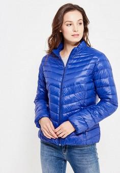 Пуховик, Colin's, цвет: синий. Артикул: MP002XW1AIQU. Женская одежда / Верхняя одежда / Пуховики и зимние куртки