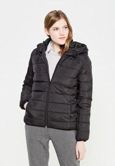 Пуховик, Colin's, цвет: черный. Артикул: MP002XW1ASE8. Женская одежда / Верхняя одежда / Пуховики и зимние куртки