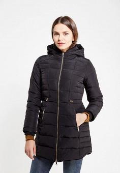 Пуховик, Colin's, цвет: черный. Артикул: MP002XW1B38U. Женская одежда / Верхняя одежда / Пуховики и зимние куртки