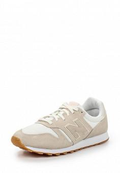 Кроссовки, New Balance, цвет: бежевый. Артикул: NE007AWPDK27. Женская обувь / Кроссовки и кеды / Кроссовки