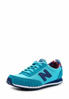 Кроссовки, New Balance, цвет: бирюзовый. Артикул: NE007AWPEC73. Женская обувь / Кроссовки и кеды / Кроссовки