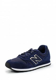 Кроссовки, New Balance, цвет: синий. Артикул: NE007AWUNZ45. Женская обувь / Кроссовки и кеды / Кроссовки