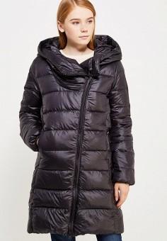 Пуховик, Nike, цвет: черный. Артикул: NI464EWUGT72. Женская одежда / Верхняя одежда / Пуховики и зимние куртки