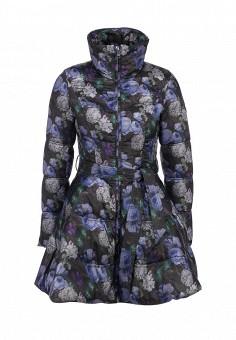 Пуховик, Odri, цвет: мультиколор. Артикул: OD001EWGJW40. Женская одежда / Верхняя одежда / Пуховики и зимние куртки