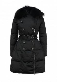 Пуховик, Odri, цвет: черный. Артикул: OD001EWGJW50. Женская одежда / Верхняя одежда / Пуховики и зимние куртки