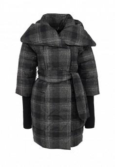 Пуховик, Odri, цвет: серый. Артикул: OD001EWGJW57. Женская одежда / Верхняя одежда / Пуховики и зимние куртки