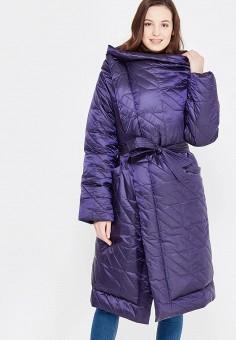 Пуховик, Odri, цвет: синий. Артикул: OD001EWXGF41. Женская одежда / Верхняя одежда / Пуховики и зимние куртки