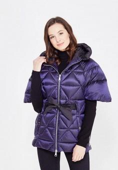 Пуховик, Odri, цвет: синий. Артикул: OD001EWXGF51. Женская одежда / Верхняя одежда / Пуховики и зимние куртки