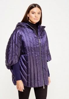 Пуховик, Odri, цвет: синий. Артикул: OD001EWXGF71. Женская одежда / Верхняя одежда / Пуховики и зимние куртки