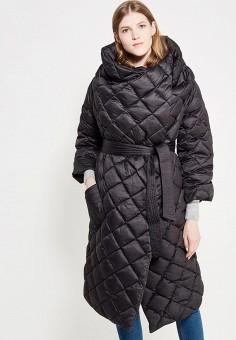Пуховик, Odri, цвет: черный. Артикул: OD001EWYGM53. Женская одежда / Верхняя одежда / Пуховики и зимние куртки