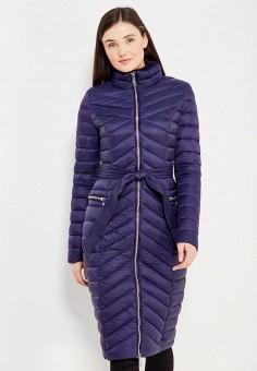 Пуховик, Odri, цвет: синий. Артикул: OD001EWYGM66. Женская одежда / Верхняя одежда / Пуховики и зимние куртки