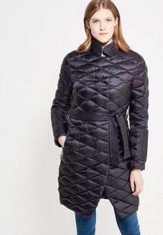 Пуховик, Odri, цвет: черный. Артикул: OD001EWYGM77. Женская одежда / Верхняя одежда / Пуховики и зимние куртки