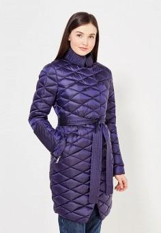Пуховик, Odri, цвет: синий. Артикул: OD001EWYGM79. Женская одежда / Верхняя одежда / Пуховики и зимние куртки