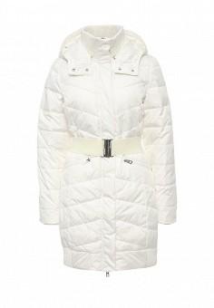 Куртка утепленная, oodji, цвет: белый. Артикул: OO001EWLUR52. Женская одежда / Верхняя одежда / Пуховики и зимние куртки