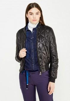 Куртка утепленная, Patrizia Pepe, цвет: черный. Артикул: PA748EWTUR41. Премиум / Одежда / Верхняя одежда