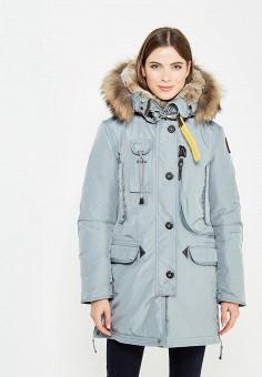 Пуховик, Parajumpers, цвет: мятный. Артикул: PA997EWTCG43. Женская одежда / Верхняя одежда / Пуховики и зимние куртки