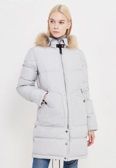 Пуховик, Parajumpers, цвет: серый. Артикул: PA997EWTCG53. Женская одежда / Верхняя одежда / Пуховики и зимние куртки