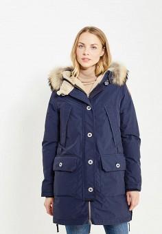 Пуховик, Parajumpers, цвет: синий. Артикул: PA997EWTCG54. Женская одежда / Верхняя одежда / Пуховики и зимние куртки