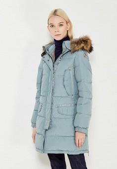 Пуховик, Parajumpers, цвет: мятный. Артикул: PA997EWWHP29. Премиум / Одежда / Верхняя одежда / Пуховики и зимние куртки