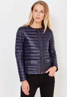 Пуховик, Polo Ralph Lauren, цвет: синий. Артикул: PO006EWUIJ71. Премиум / Одежда / Верхняя одежда / Пуховики и зимние куртки