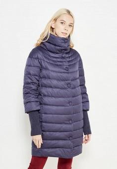 Пуховик, Savage, цвет: синий. Артикул: SA004EWVJW45. Женская одежда / Верхняя одежда / Пуховики и зимние куртки