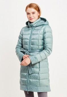 Пуховик, Savage, цвет: бирюзовый. Артикул: SA004EWVJW61. Женская одежда / Верхняя одежда / Пуховики и зимние куртки