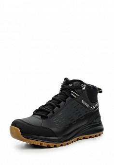 Ботинки, Salomon, цвет: черный. Артикул: SA007AMJJK85. Мужская обувь / Ботинки и сапоги