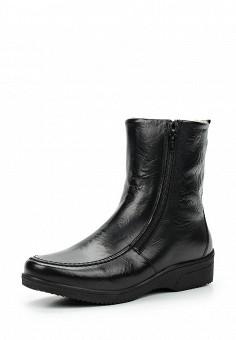 Полусапоги, Salamander, цвет: черный. Артикул: SA815AWTTN37. Женская обувь / Сапоги